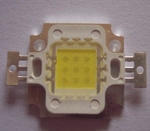 10W , 900MA , 9-10 v series 3 and 3 , Bright white 6000K-6500K Warm white 3000K-3500K , 35 mil chip copper stent