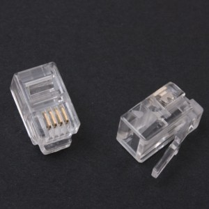 20 Pezzi 4P4C Quartz Head, telephone Quartz head, four-core Quartz head, RJ12 Quartz head