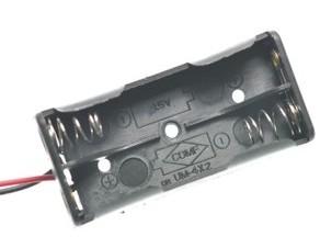 2 slot AA contenitore batterie