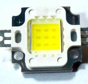 10W White LED 900mA 900-1000LM 6000-7000K 120-140C Output Degree
