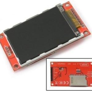 """2.2"""" Seriale TFT SPI LCD Modulo Display 240x320 Chip ILI9340C PCB Adattatore Scheda SD"""