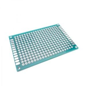 2 Pezzi 4x6cm Double Side Prototipo PCB Universal Printed Circuit Board