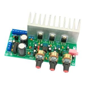 TDA2050 + TDA2030 2.1 Three-Channel Subwoofer Scheda di amplificazione Finished Board 60W