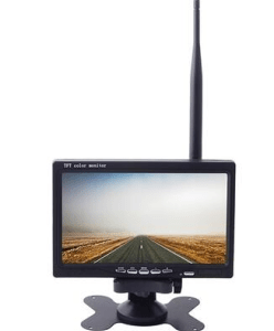 FPV 5.8G 7 inch high brightness integrated receiver aerial display monitor built-in battery