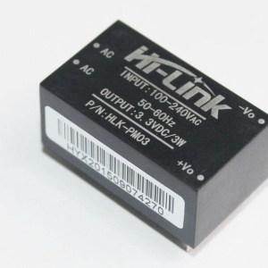 HLK-PM03 AC-DC 220V to 3.3V Pulsanteing Modulo di Alimentazione piccolo size