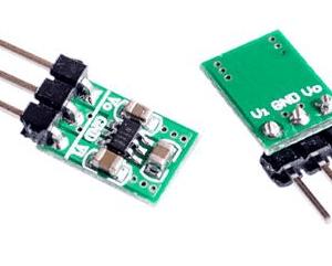 2 in 1 DC DC StepDown And StepUp Convertitore 1.8V5V to 3.3V