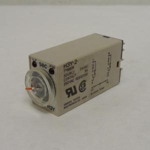 OMRON H3Y-2 Relè a tempo 0-5 secondi 24V DC 5A 250VAC resistivo timer relè