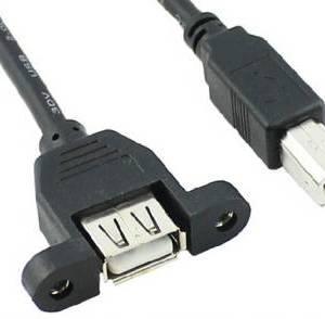 Cavo USB per montaggio a pannello F / M