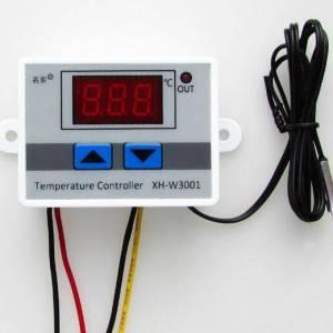 12V / 24V / 220V XH-W3001 Regolatore di temperatura digitale a LED XH-W3001 Termostato interruttore di riscaldamento raffreddame