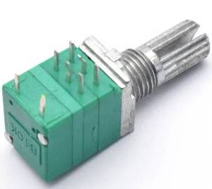 2 Pezzi RV097GS 6Pins Potenziometro doppio B20K con interruttore