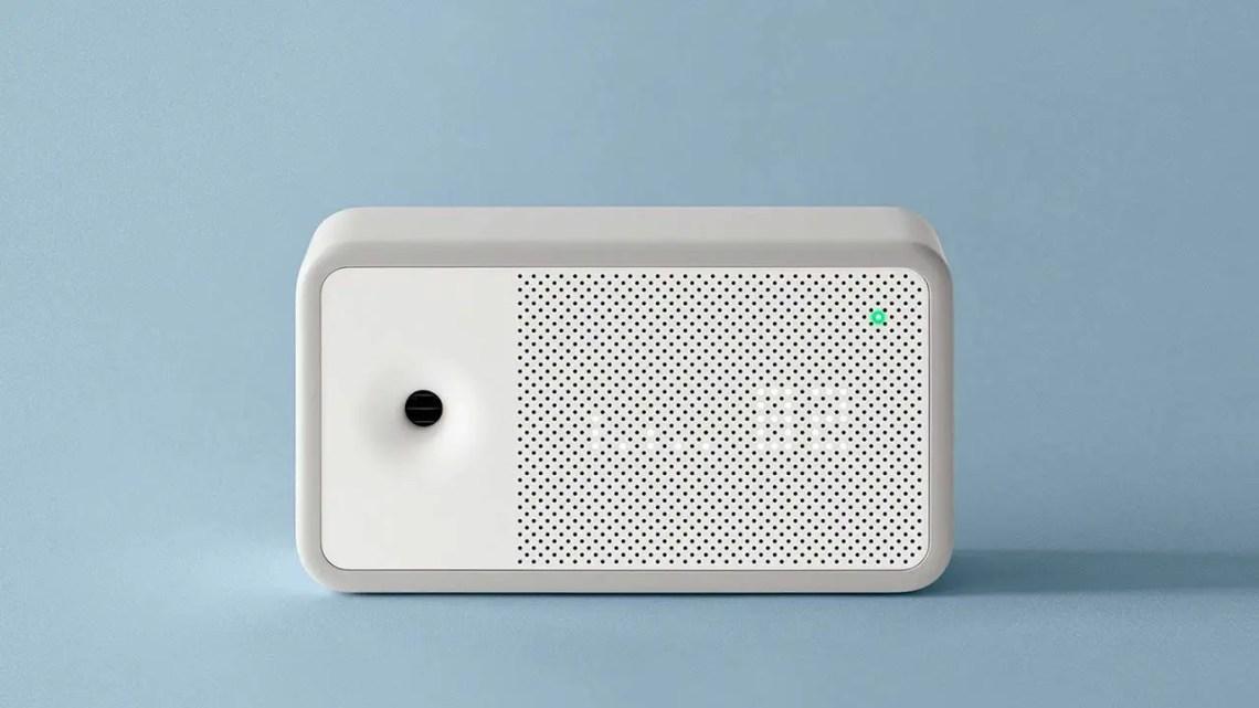 monitor della qualità dell'aria domestica awair element
