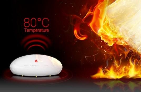 Le Fibaro Flood Sensor peut vous aider à détecter un incendie