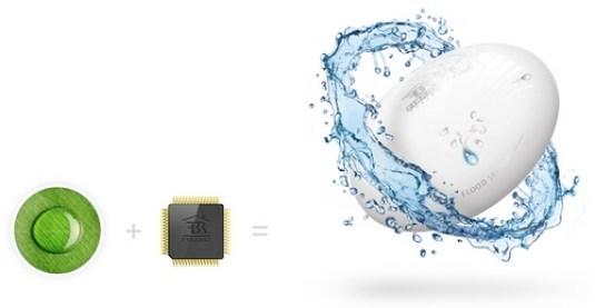Le détecteur d'inondation Fibaro Flood Sensor