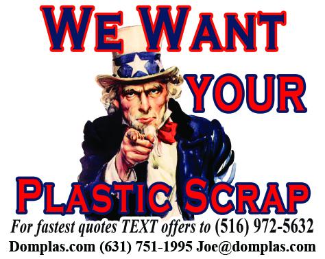 We Want Your Plastic Scrap