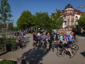 Treffen der Radfahrer