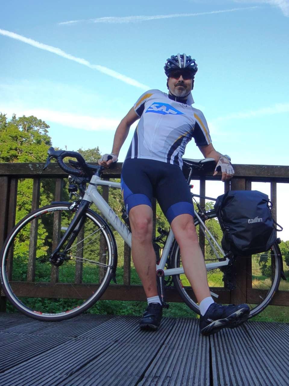 Dieses Mal ohne Fahrradrucksack