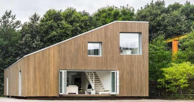 casa moderna din containere