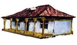 Casa din Muntenia localitatea Dragalina