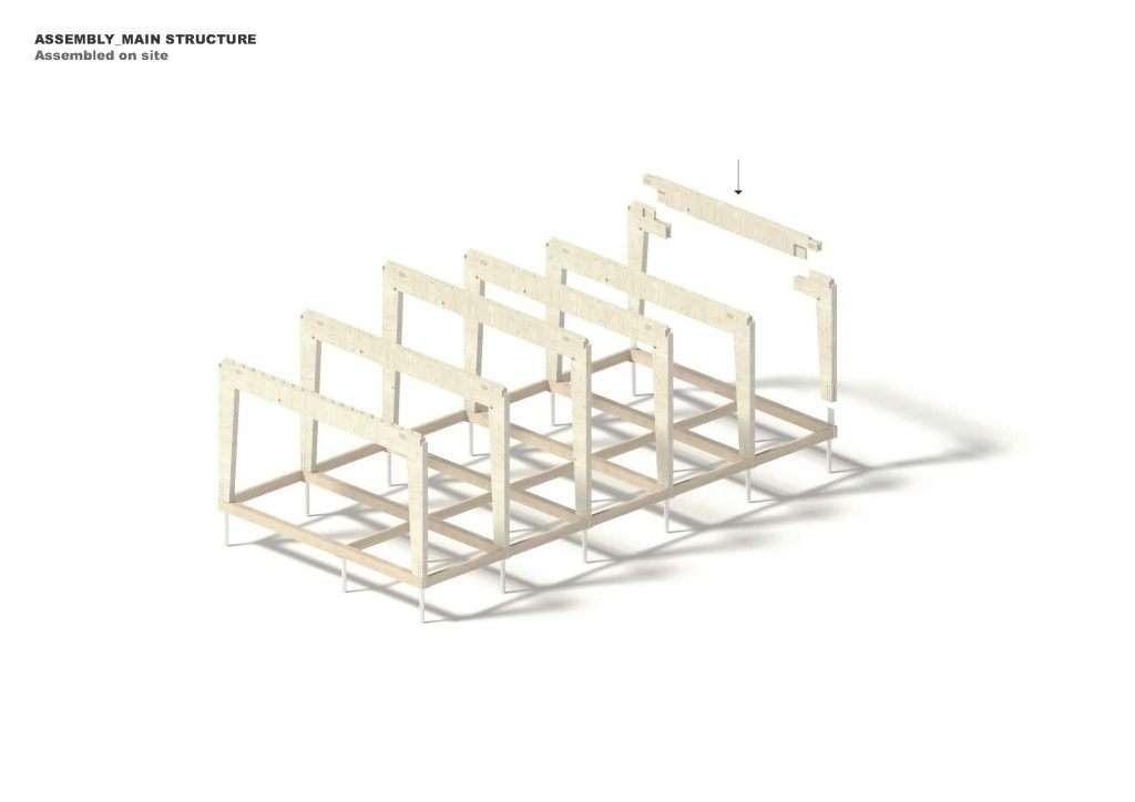 Structura lemn MINKA