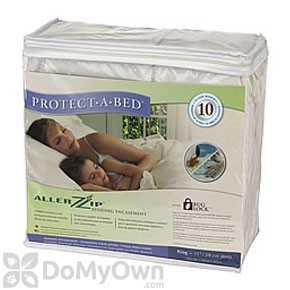 Protect A Bed Allerzip Bug Mattress Cover Twin