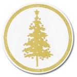 Golden Trees Seals -- 25 per Pack