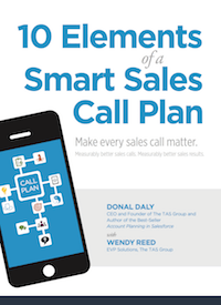 10 Elements of a Smart Sales Call Plan