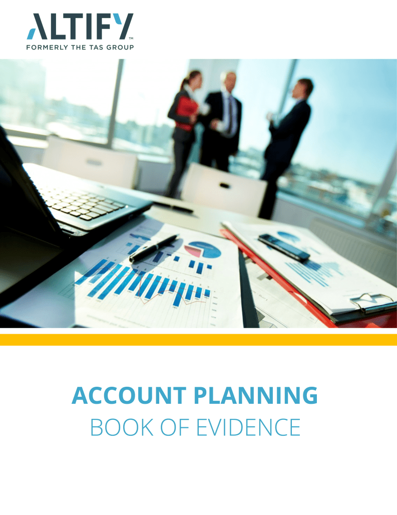 Account Planning Book of Evidence
