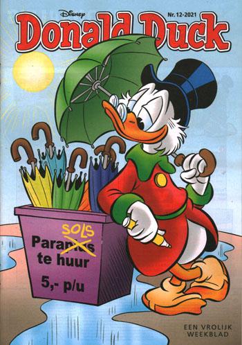 Deze week in Donald Duck weekblad 12 (2021)