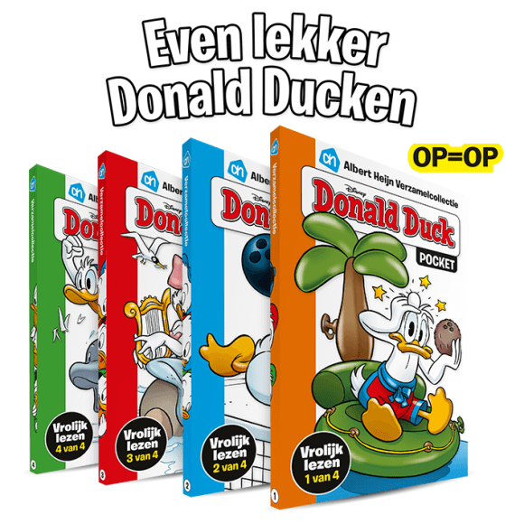 Donald Duck Pockets Albert Heijn