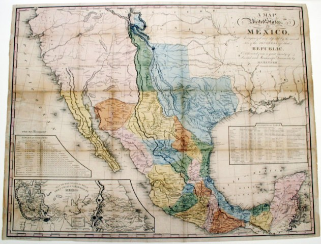 A Map of the United States of Mexico  as organized and defined by     A Map of the United States of Mexico  as organized and defined by the  several acts of Congress of the Republic     Second edition  1846   H enry  S chenck