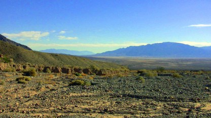 Death Valley from Titus Canyon