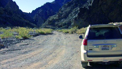 Entrance to Titus Canyon