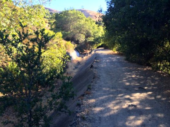 The Coyote Alamitos Canal runs right by, but that is another story.