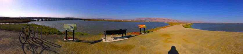 Panorama of Coyote Slough.