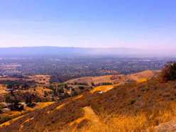 Another view from Mt Hamilton Rd. You can see downtown San Jose in the distance.