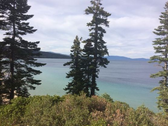 Lake Tahoe from DL Bliss