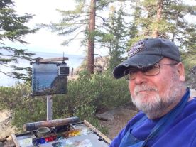 Painting on the Rubicon Trail