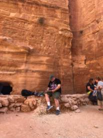 Painting in Petra