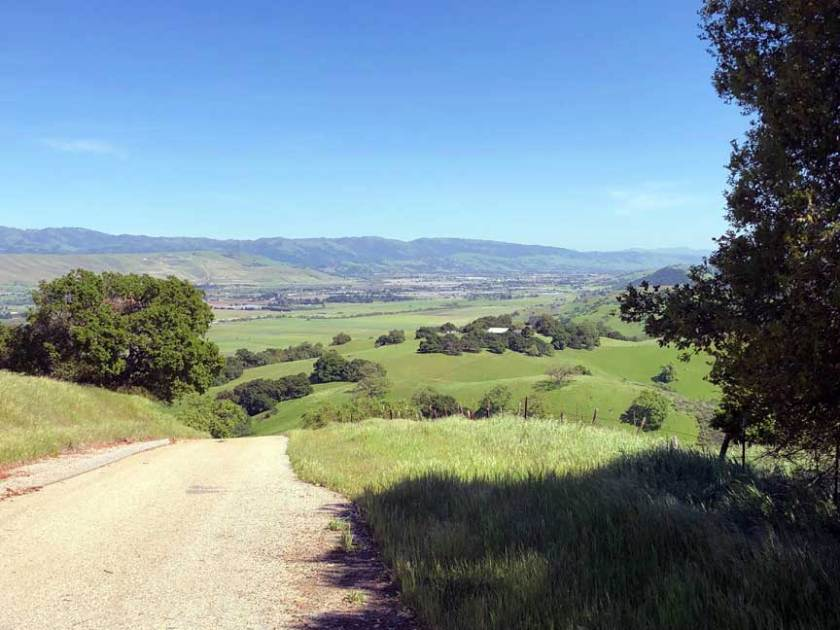 Coyote Valley from the Santa Teresa hills