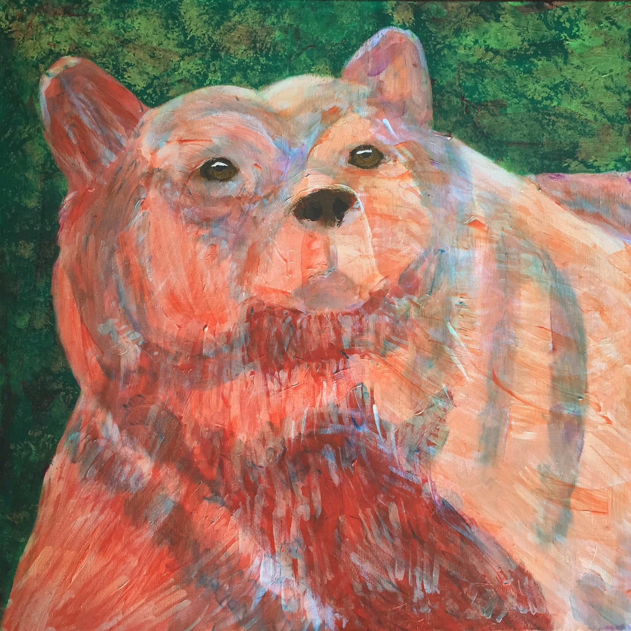 Alaskan Bear - - Original for Sale - Prints Available