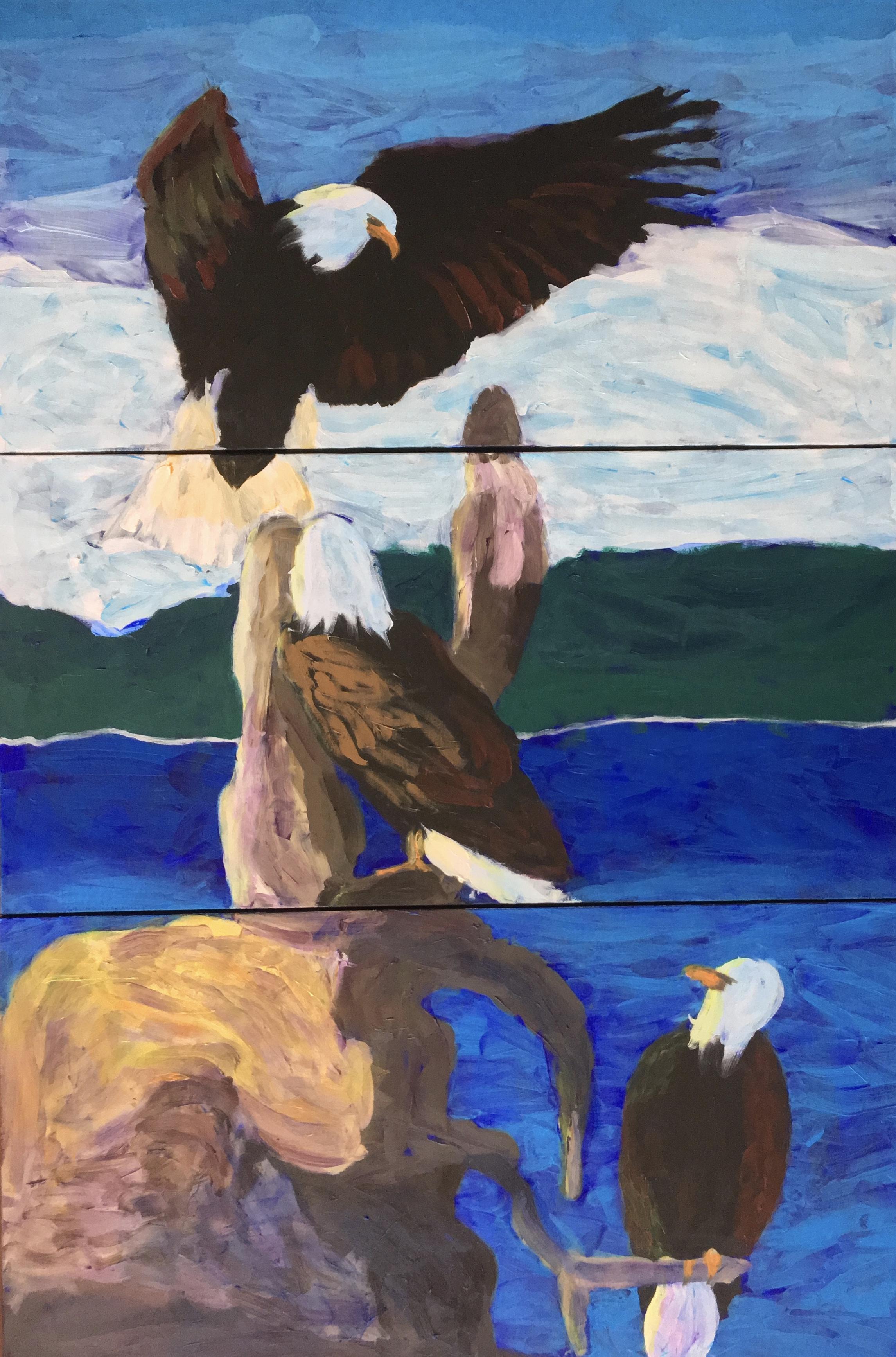 Eagles - - Original for Sale - Prints Available