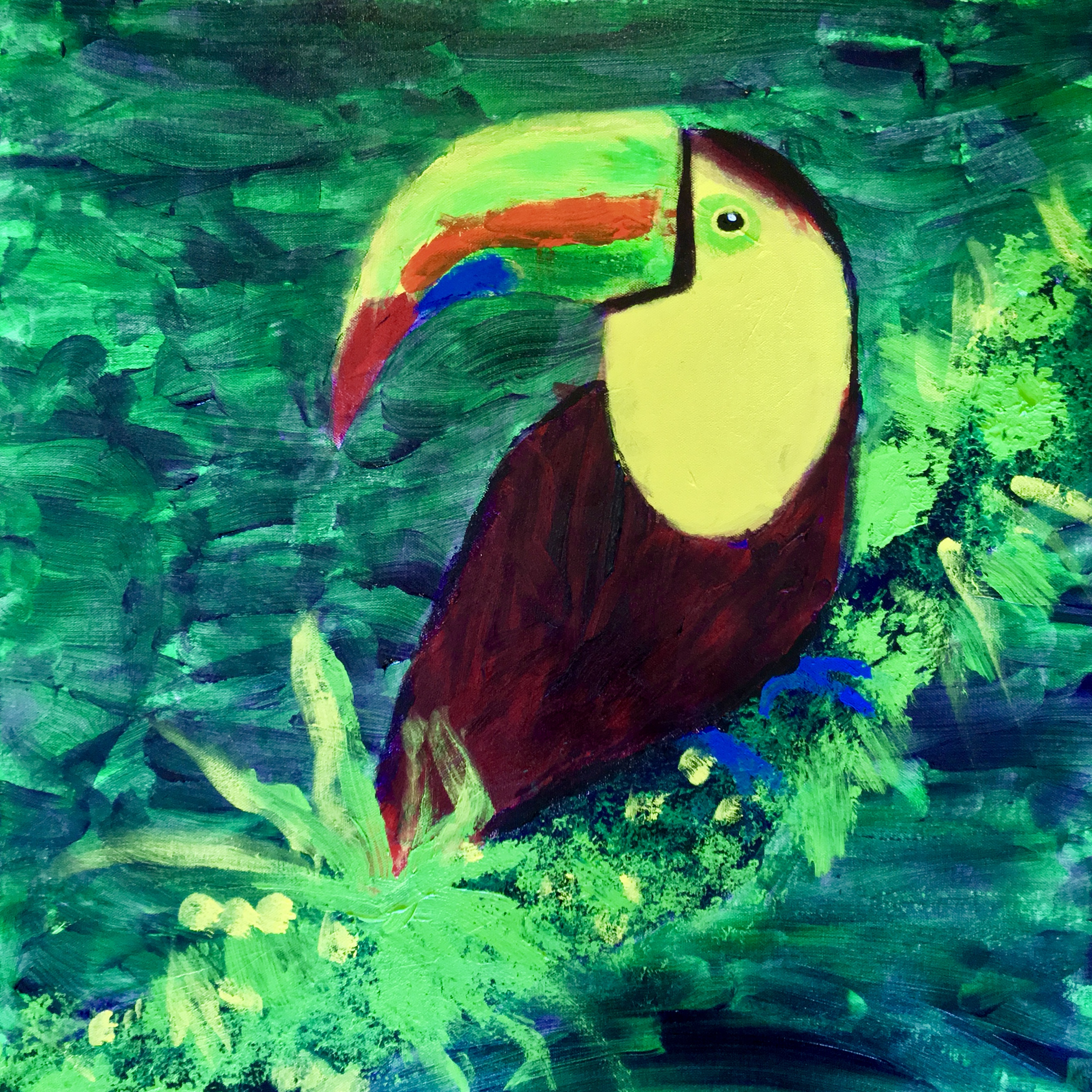 Toucan - Original For Sale - Prints Available