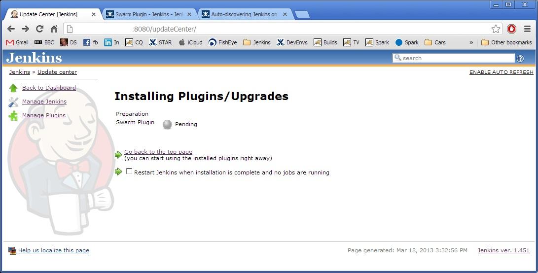 Jenkins Slave Nodes – using the Swarm Plugin | Don's Blog