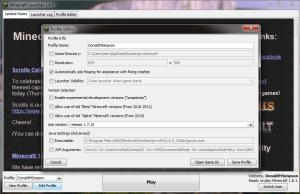 RunMinecraft1.7.10