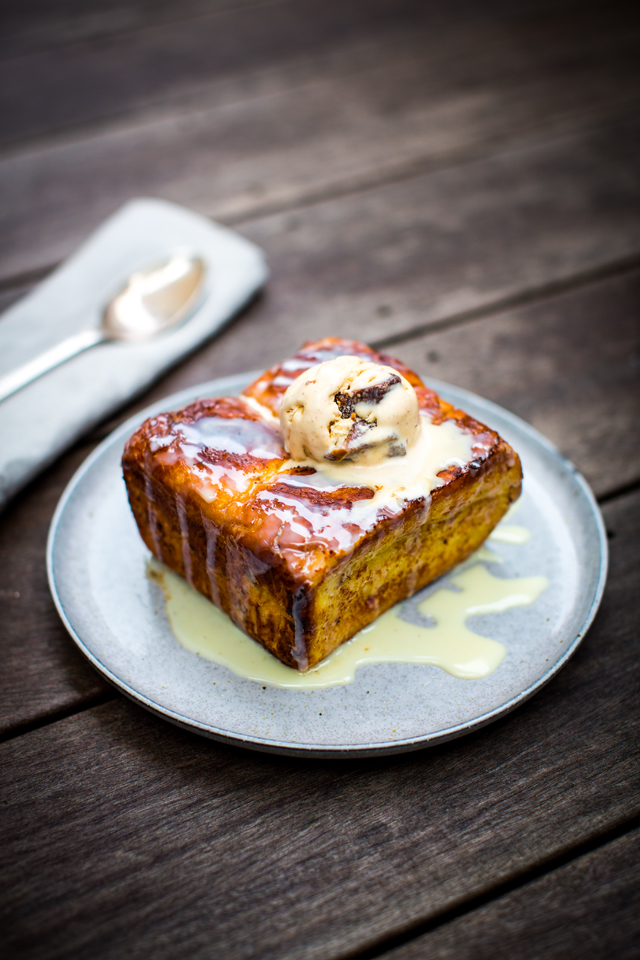 Hong Kong French Toast | DonalSkehan.com, Brunches don't get much more decadent than this!