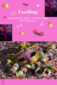 Prinzessin, Pirat, Clown oder doch Katze?