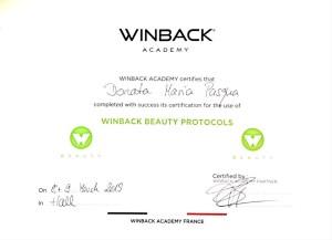 Winback Zertifikat 2019