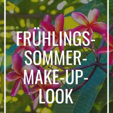 Frühling/Sommer-Make-up-Look Maria Galland Paris