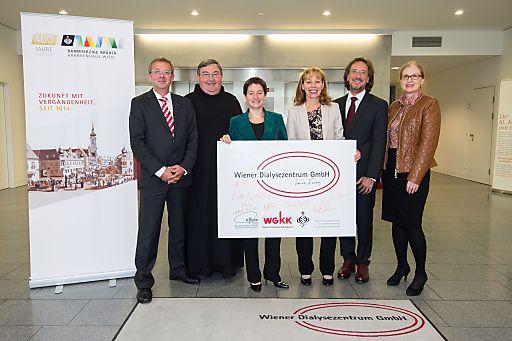 Dialysezentrum Wien-Donaustadt feiert 5-jŠhriges JubilŠum
