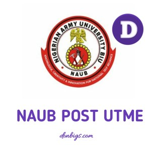 naub post utme form